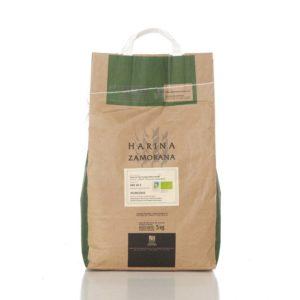 Harina de Trigo Ecológica Blanca W-200 5 kg