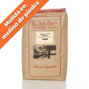 "Harina de Trigo Integral ""MOLINO DE PIEDRA"" T-150 25 kg"