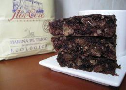 Brownie Integral de pasas y almendras