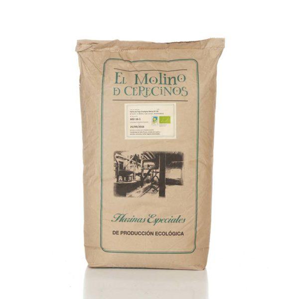 Harina de Trigo Ecológica Blanca W-130 25 kg