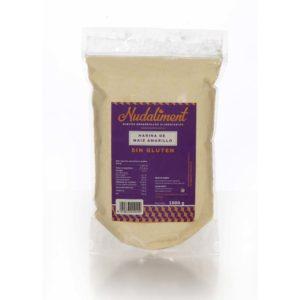 Harina de Maíz blanco sin Gluten 1000 gr