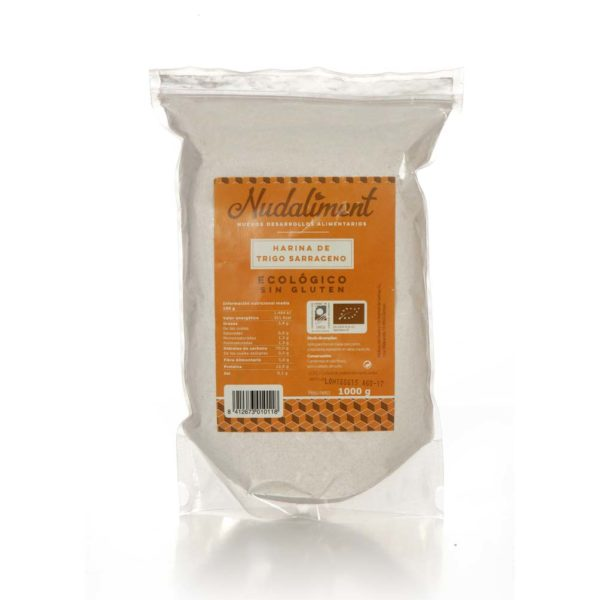 Harina de Arroz Integral ECOLÓGICA Sin Gluten 1000 gr