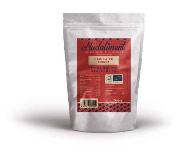 Harina de Quinoa ECOLÓGICA Sin Gluten 700 gr