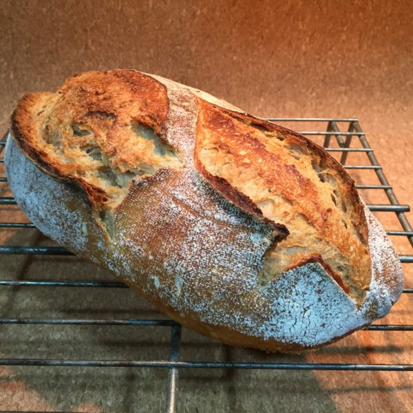Pan con Harina de trigo ecológico Molino Piedra