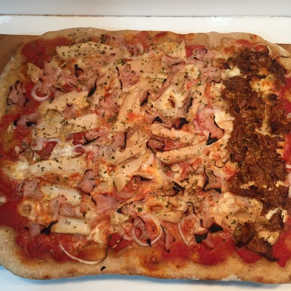 Pizza Harina Tradicional Zamorana y Centeno Eco Integral