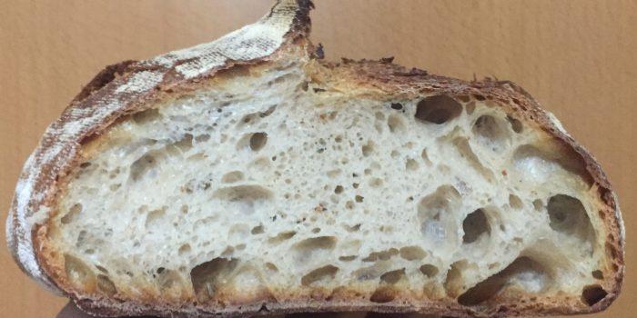 Pan con Harina molida en Piedra 100% (T-80)
