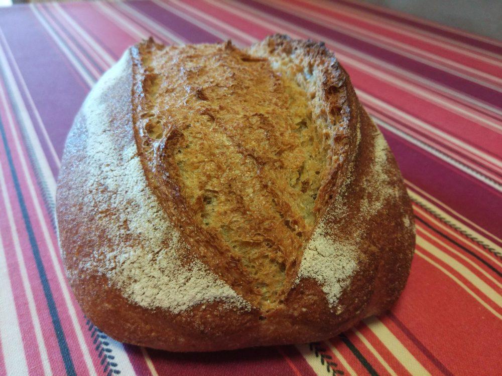 Pan con harinas ecológicas Metodo Yohan's Style