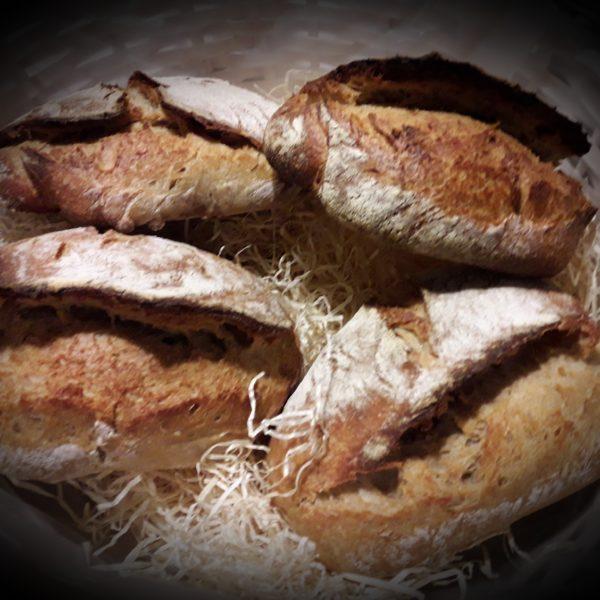 Panes con Especial Dorada, Do País y Centeno Ecológico