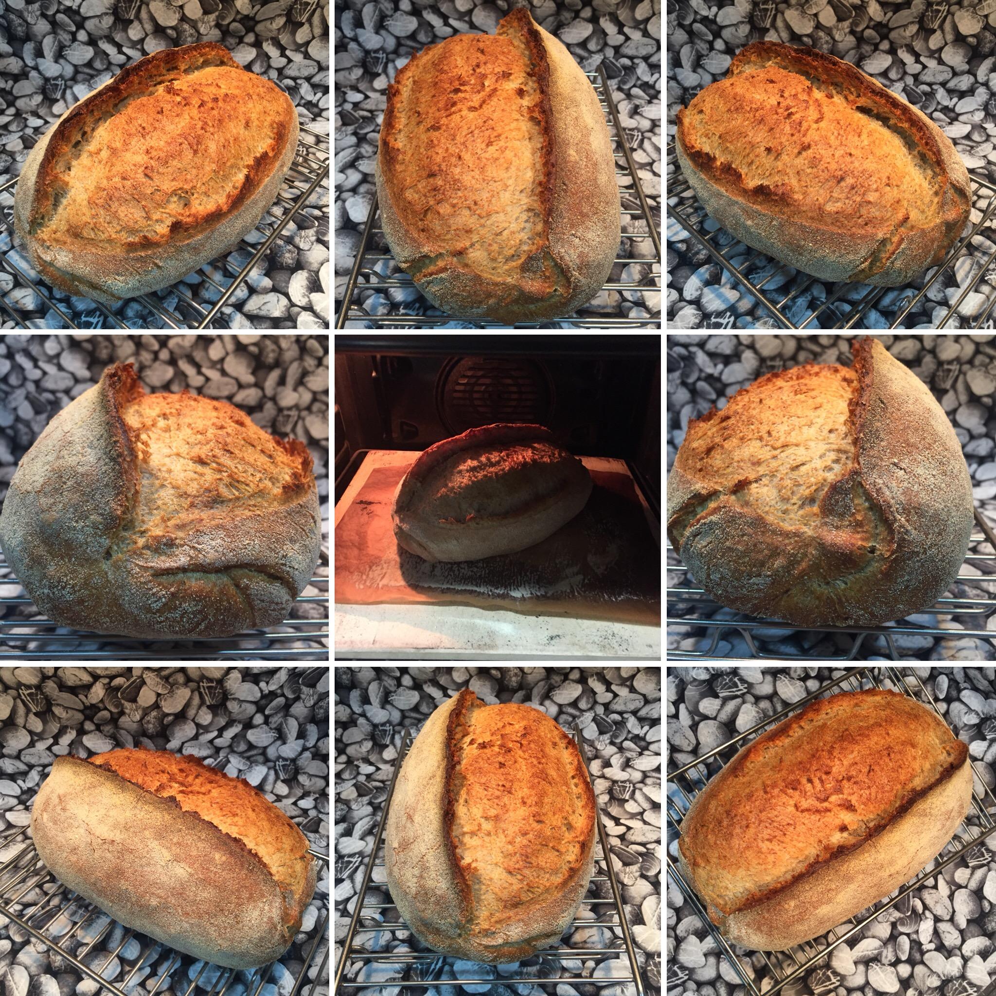 Pan de Pueblo. Versión Levadura. Proceso rápido