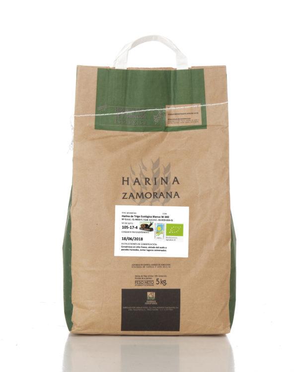 Harina de Trigo Ecológica blanca W-300 5 kg