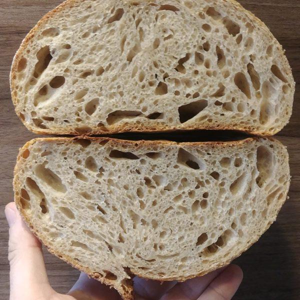 Pan de Harina Do País Galego Molida en Piedra