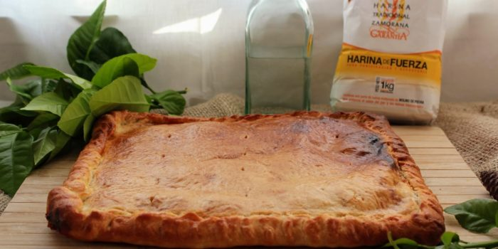 Empanada de Atún con Pisto de Calabacín