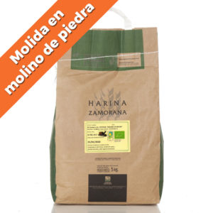 "Harina de Centeno Ecológico blanco ""Molido a Piedra"" 5kg"