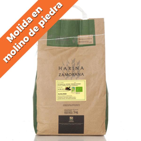 "Harina de Centeno Ecológico integral ""Molido a Piedra"" 5kg"