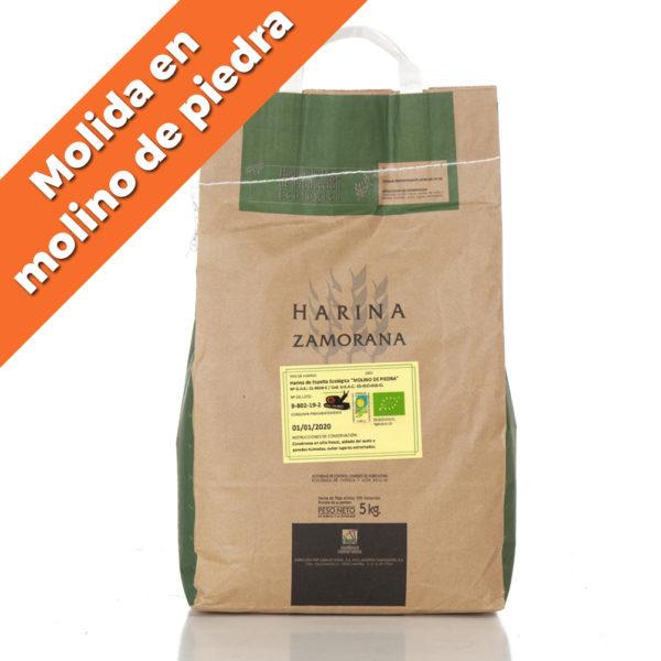 """Harina de Espelta Ecológica blanca """"Molino de Piedra"""" 5kg"""