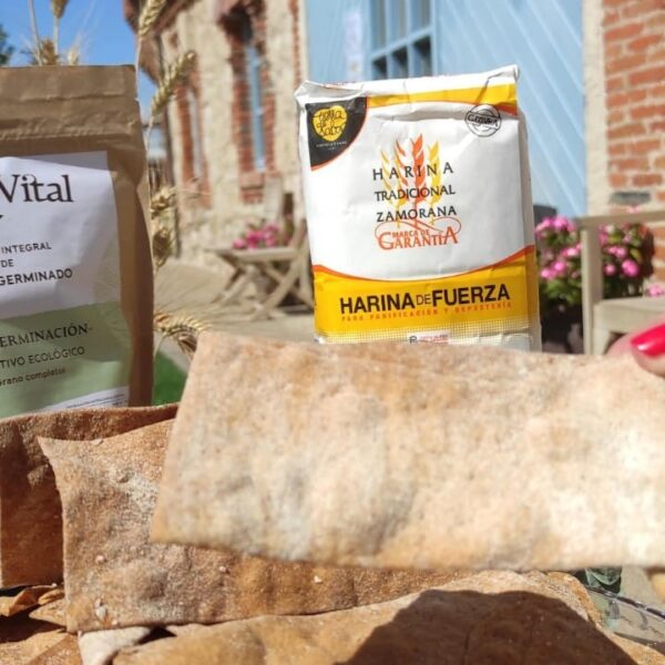 regañas htz+harina germinada